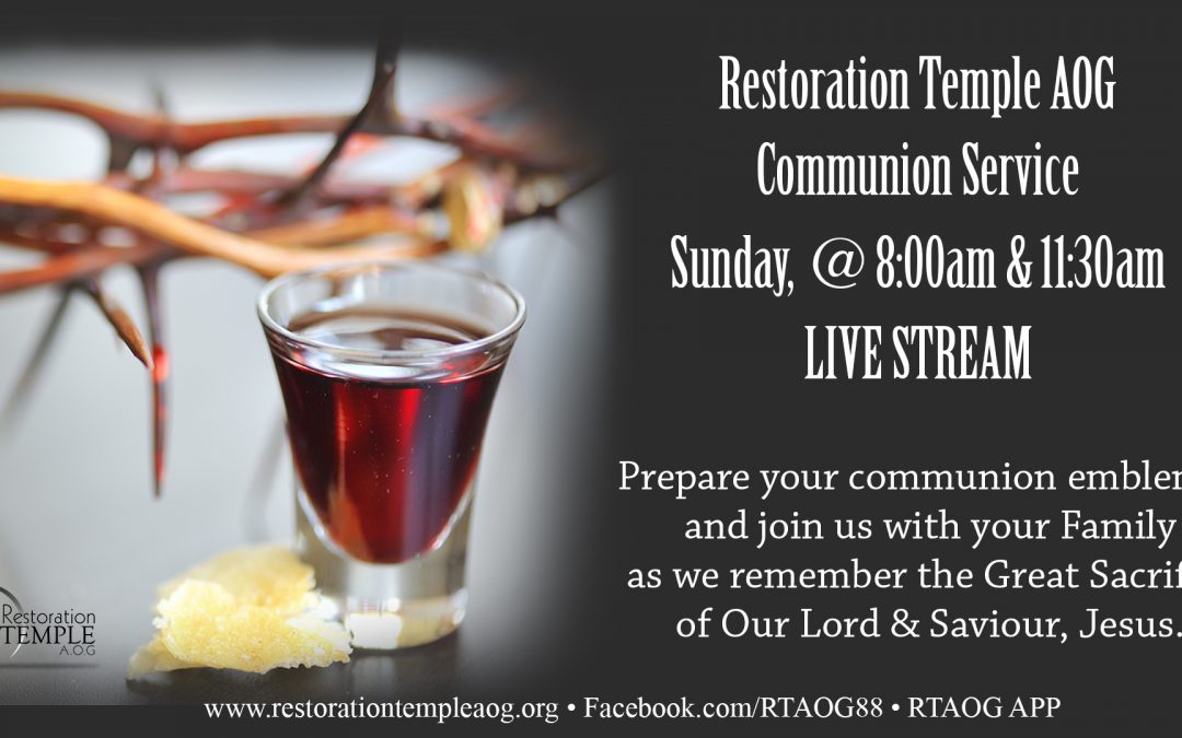 Communion Service 11:30am
