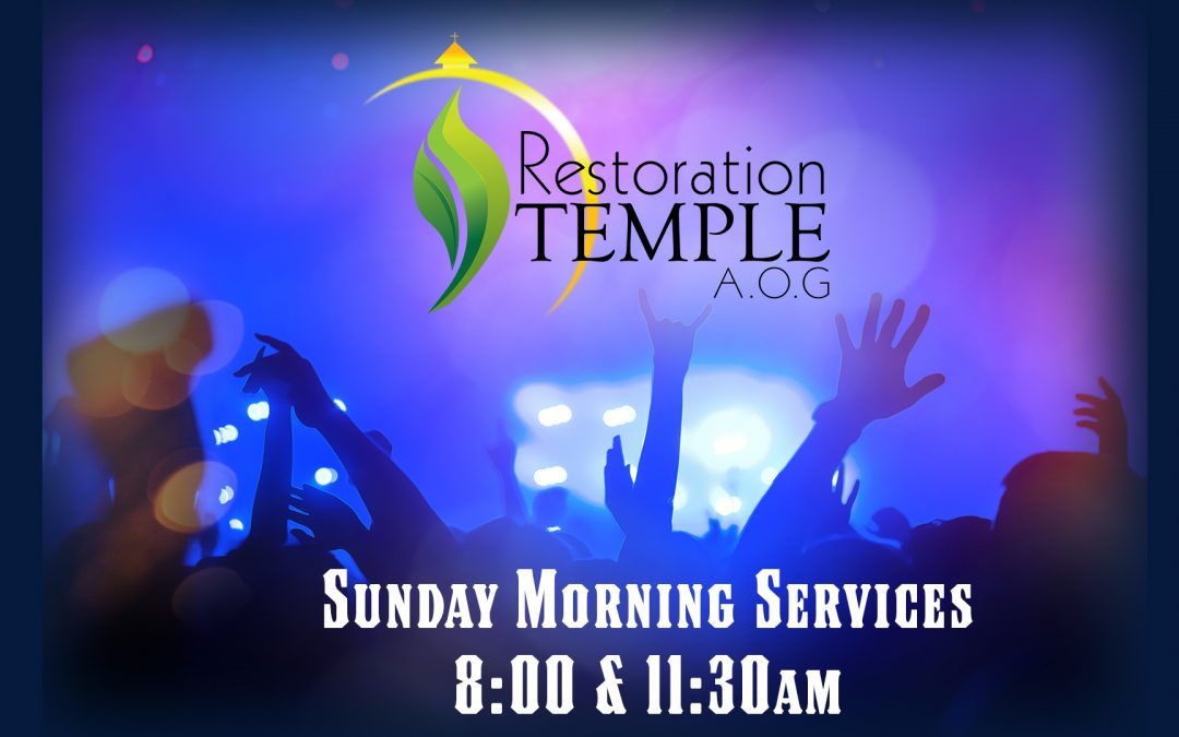 Sunday Morning Service 11:30am